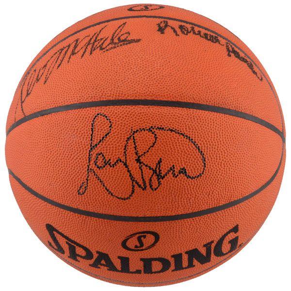 Larry Bird, Kevin McHale, Robert Parish Boston Celtics Fanatics Authentic Autographed Game Basketball - $499.99
