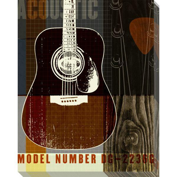 Art Classics LTD Guitar IV Acrylic Wall Art By Phoenix