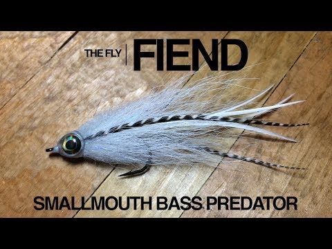 Smallmouth Bass Predator X Fly Tying Tutorial | The Fly Fiend - YouTube