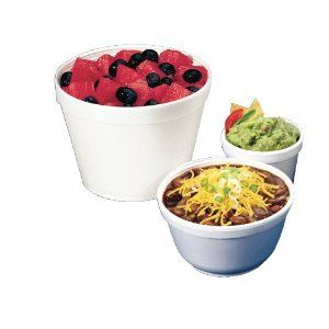 Dart 6SJ12 Insulated Foam Food Container, White, 6 oz., 1000 Containers Per Case by Dart. $39.46. 20 Bags of 50. Insulated foam keeps hot or cold food at proper serving temperature longer. 20 bags per case. ~ 6-oz. Squat Container