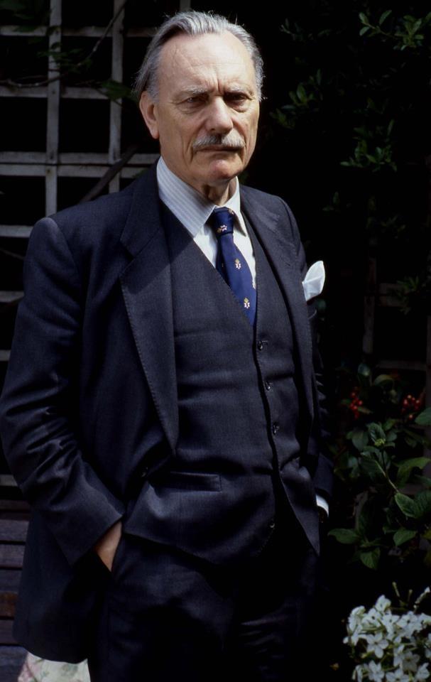 A controversial icon. Enoch Powell.