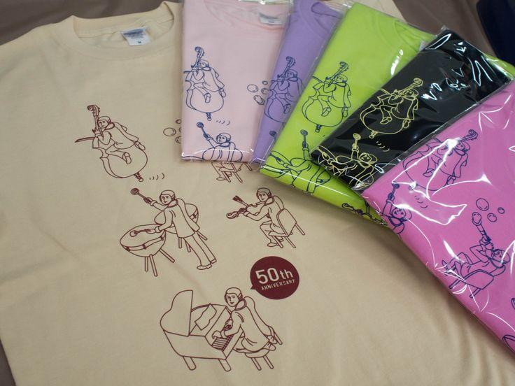 名古屋音楽大学様50周年Tシャツ