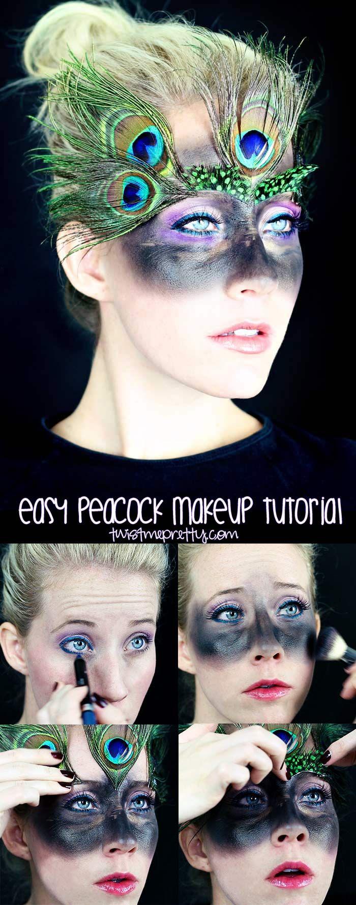 Best 25+ Peacock Makeup Ideas On Pinterest