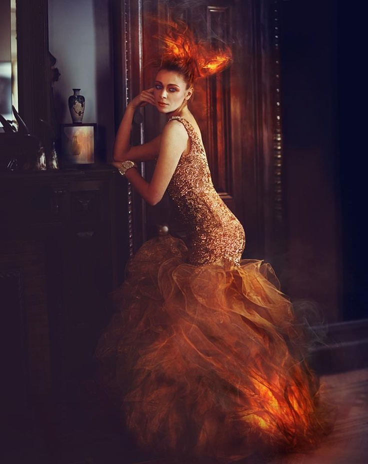 Model: Ganna Isk  Hair: Yasutake  Makeup: Alyssa Lorraine  Stylist: J Johnson Styling Co.  Photographer: Miss Aniela