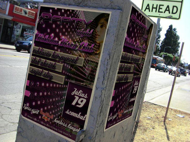 Rendezvény plakát  - Te is elkészítheted a www.designakademia.hu tanfolyamain.