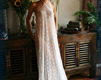 Embroidered French Lace Bridal Nightgown Panties Wedding