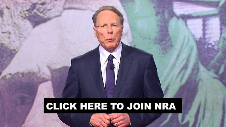 Wayne LaPierre Asks You to Join NRA