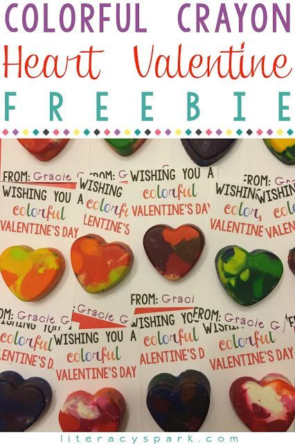 Need a valentine idea?  Have you tried the melted crayon hearts?  Check out these FREE and EDITABLE printable Valentine's Day cards that go perfect with this DIY craft.