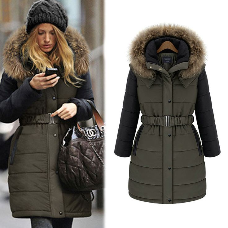 mode d 39 hiver mesdames warm coat manteau veste longue femme manteau pinterest warm coat and. Black Bedroom Furniture Sets. Home Design Ideas