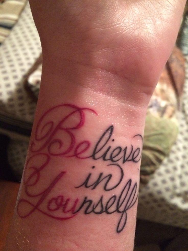Die Besten 25 Tattoo Believe In Yourself Ideen Auf -2227