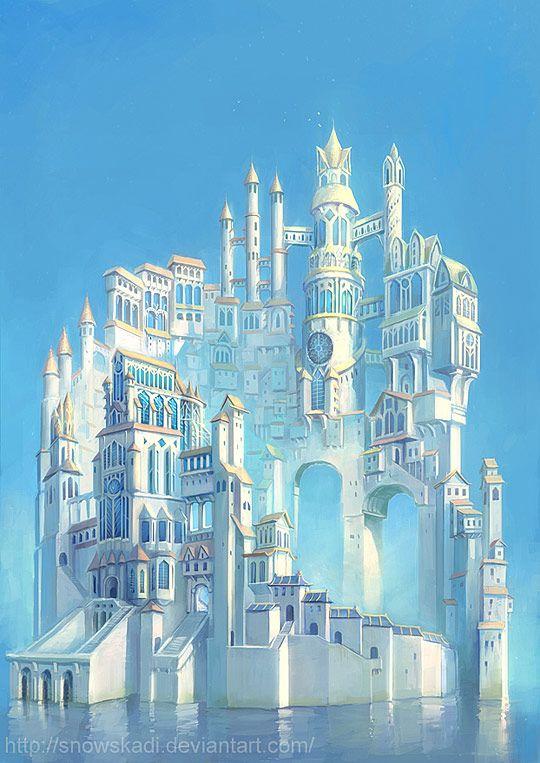 White Tower by SnowSkadi