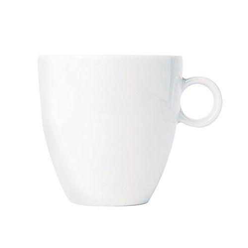 TAZZA DA CAFFE' BIANCA | Alessi-TAC187-Bavero-Tazza-da-caff-filtrato-in-porcellana-bianca-0