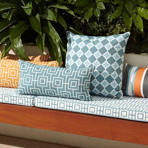 Warwick Fabrics, BONDI OUTDOOR Collection / outdoor fabric #warwickfabrics