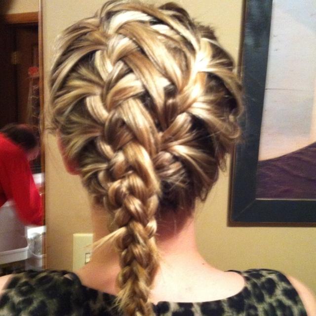 Spider Web Braid Gorgeous Hair Pinterest
