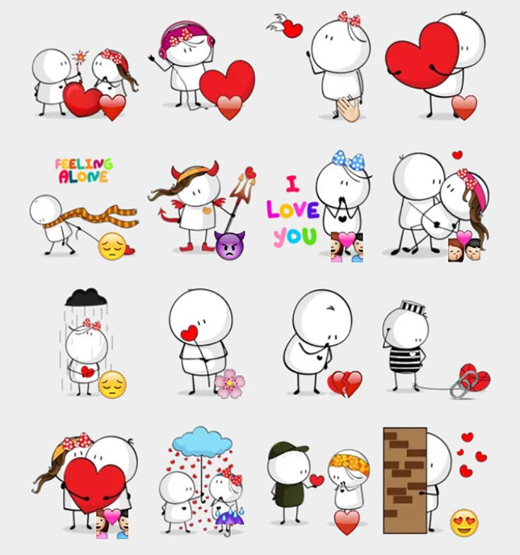 Bigli Migli Stickers Set | Telegram Stickers