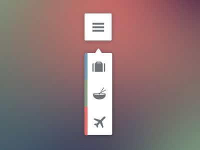 Dribbble - Travel Tooltip by Monika Majkowska