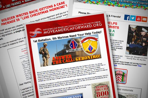 Pro-Troop Charity Misleads Donors While Lining Political Consultants' Pockets