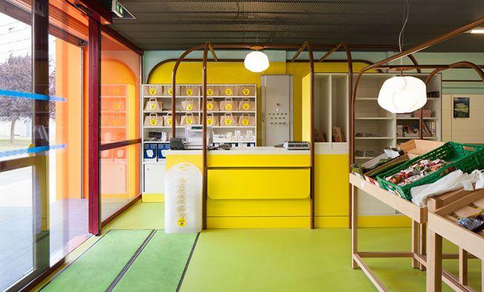 Mini M Grocery Shop, Toulouse University, France