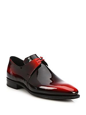 Pierre Corthay Arca Patent Leather Dress Shoes