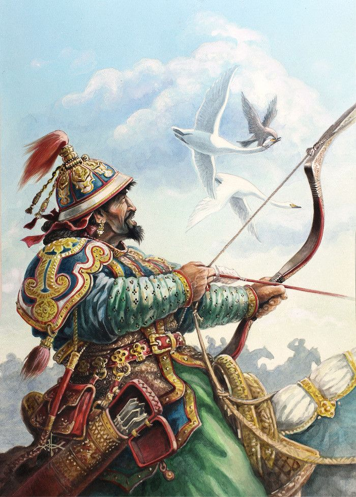 Kublai Khan, Khagan of the Mongol Empire, founder of the Yuan Dynasty Emperor of China.