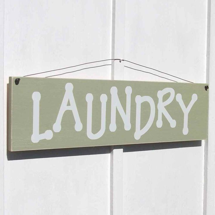 Outer Banks Country Store - Laundry - Large, Laundry Room Decor Sign, $29.99 (http://www.outerbankscountrystore.com/laundry-large-laundry-room-decor-sign/)