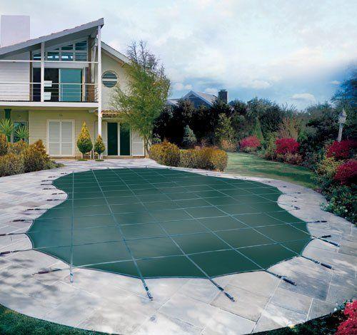 Walk on pool covers