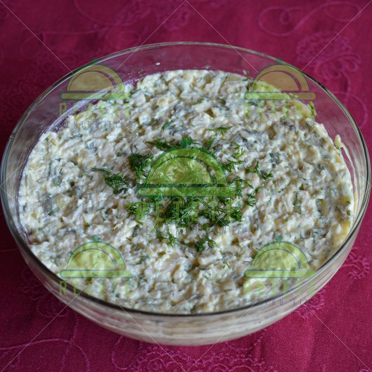 Salată de pui cu maioneză