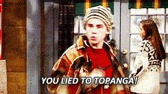 When he yelled at Cory for lying to Topanga and suggested he turn to Scripture.