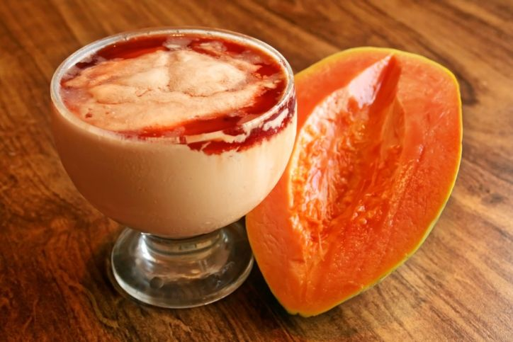 Como fazer creme de papaia delicioso que não atrapalha a dieta