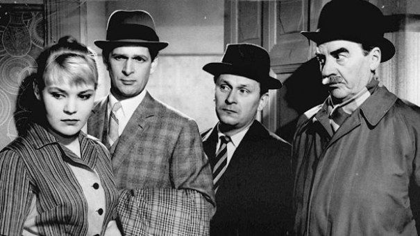 """tÄHDET KERTOVAT, kOMISARIO pALMU (""""The Stars Will Tell, Inspector Palmu""""), 1962. fEMALE aINO mANTSAS."""
