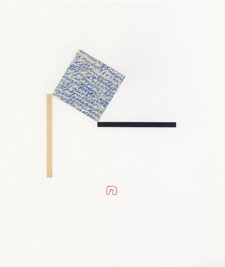 Man, Woman and Words N°01 - 21 x 25 cm / Art by Slavomir Zombek