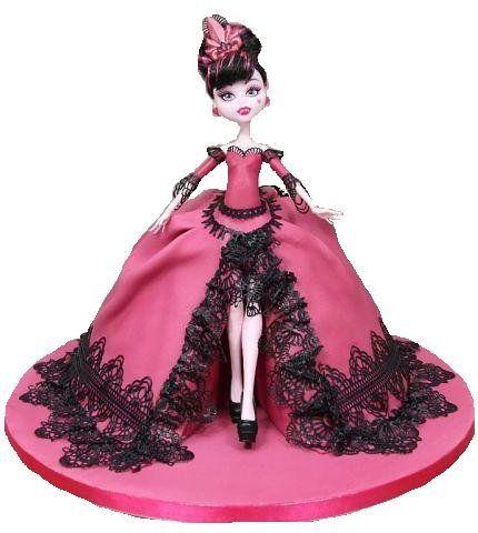 Картинки по запросу торт кукла