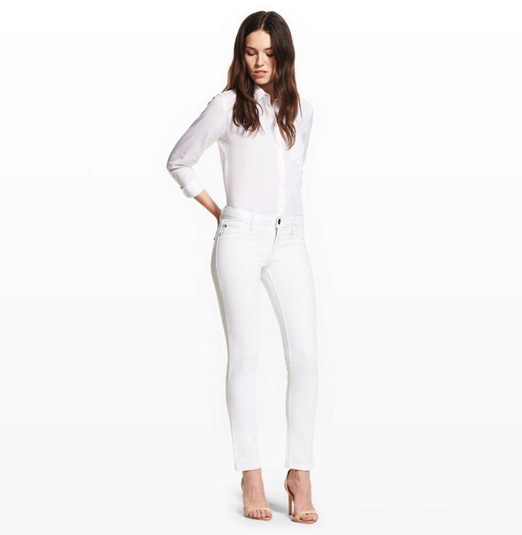Shop DL1961 Premium Denim Angel in Milk Women Ankle Jeans, perfect fitting jeans for women. DL1961 best sellers & new styles women's jeans.