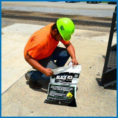 Easily repair potholes yourself with BlackIce Pavement Repair!