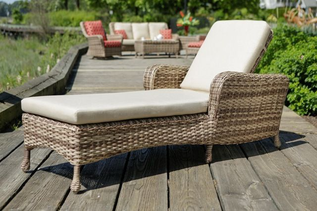 Ratana 8211 Havana Tac Lounger Outdoor Wicker Furniture Outdoor Furniture Deck Furniture