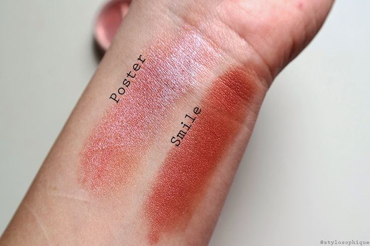 "REVIEW || Blush Minerali ""Pop Society"" di Neve Cosmetics - swatch: Poster, Smile"
