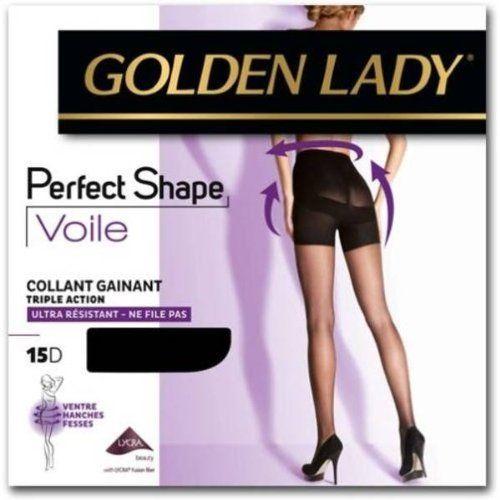 Golden lady – collant perfect shape voile résistant NOIR T4: Caractéristiques techniques 71% POLYAMIDE 29% ELASTHANNE Cet article Golden…