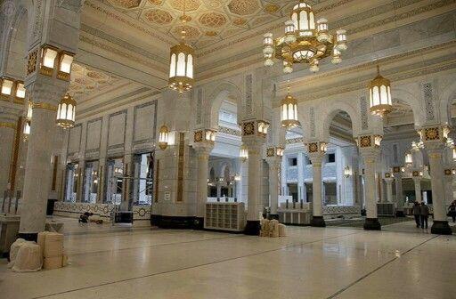 Masjid Al Haram apres travaux Allahumma Barik