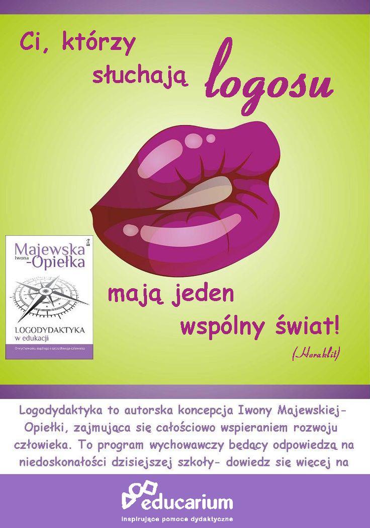 Poczytaj więcej o nowej koncepcji wychowania i całościowego rozwoju człowieka oraz nowej książce Iwony Majewskiej-Opiełki na educarium.pl http://www.educarium.pl/index.php/aktualnopci-mainmenu-75/324-logodydaktyka-w-edukacji-o-wychowaniu-mdrego-i-szczliwego-czowieka.html