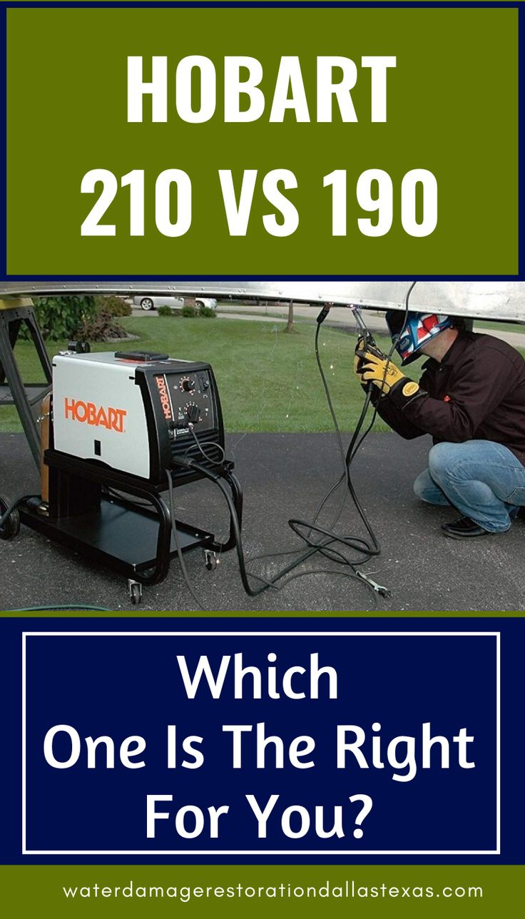 Hobart 210 VS 190: Which One Is The Right For You? - in ...