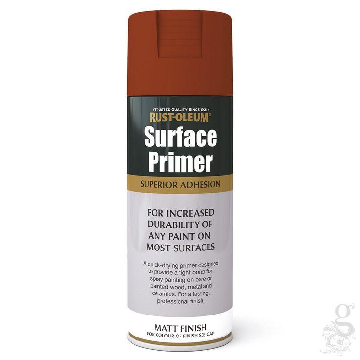 Rust Oleum Surface Primer Red Matt 400ml