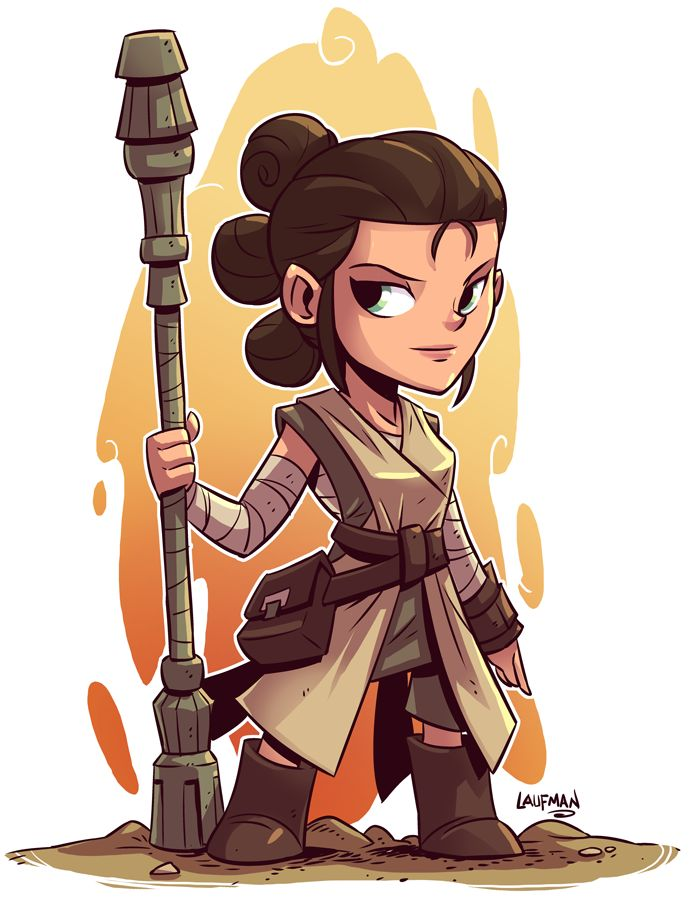 Chibi Star Wars Characters by Derek Laufman                                                                                                                                                      More