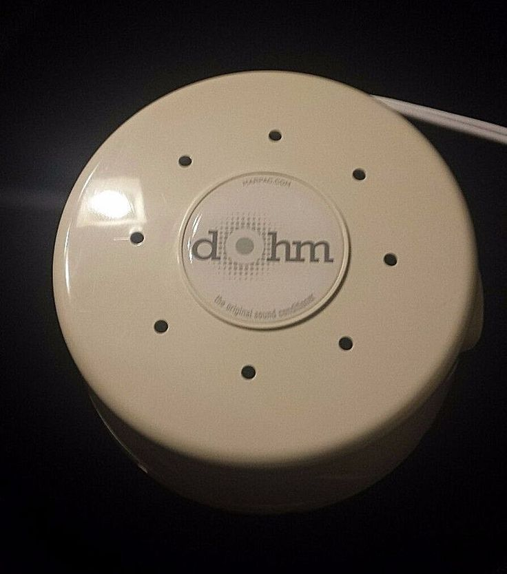 Marpac Dohm-DS All-Natural White Noise Sound Machine, White  #Marpac