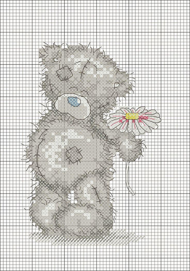 Schemi a punto croce: teneri orsetti a punto croce