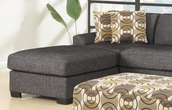 Sandford Chaise Ash - Chaise Sofas