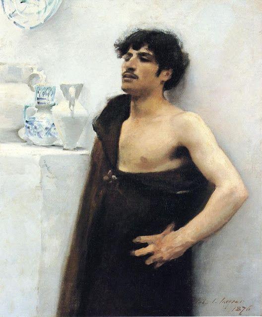 Νεαρός άνδρας ονειροπολεί (1876)