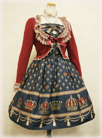 Charming, classic, and adorable lolita outfit