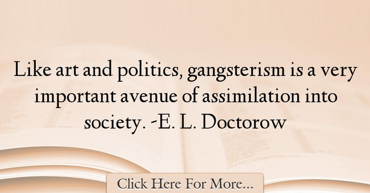 E. L. Doctorow Quotes About Society - 63479