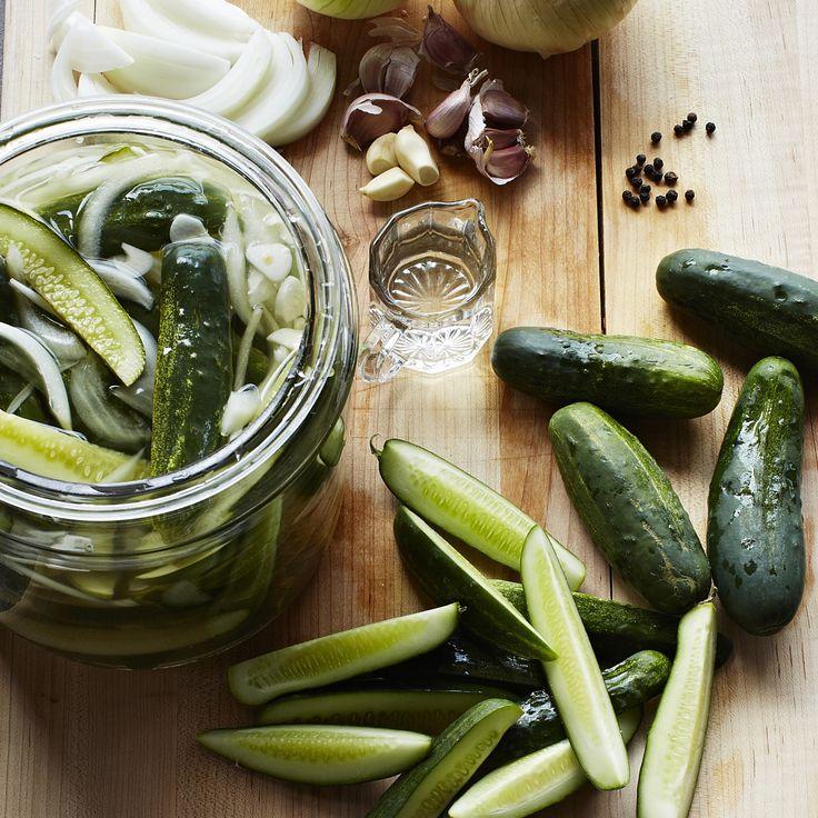 The Local Palate - Hilda's Icebox Pickles