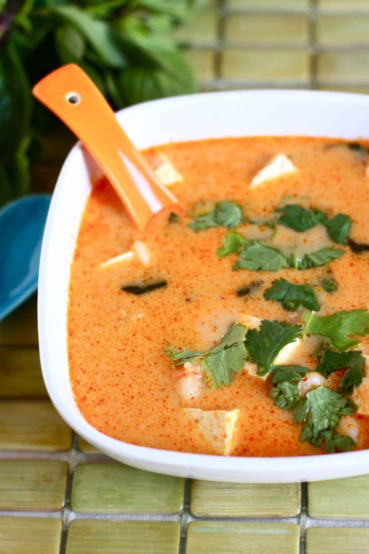 Thai Fire-Pot Soup: Thai Soups, Crockpot Coconut, Brown Sugar, Thai Curries, Fire Pots Soups, Curries Soups, Thai Coconut Soups, Coconut Milk, Thai Basil